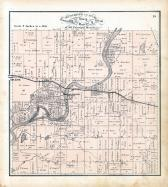 Lake Township, Adams, Breakenridge Ferry, Muscatine County 1874
